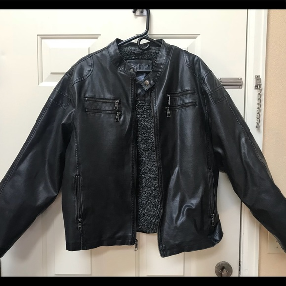 99bca6fcb Faux Leather Jacket from Whispering Smith